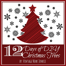12 days of diy christmas trees step by step tutorials