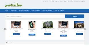 bid auction websites 10 best auction themes of 2017 wpdean