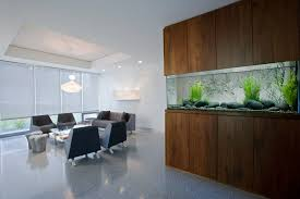 delightful wall aquarium decorating ideas at your living room home