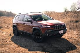 maroon jeep 2017 review 2017 jeep cherokee trailhawk canadian auto review