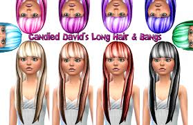 custom hair for sims 4 sims 4 custom hair candie wedge hair in 10 colors 300 followers
