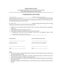 Sle Letter Of Certification For Visa Application 46 Authorization Letter Samples U0026 Templates Template Lab