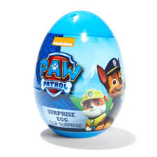 easter egg surprises paw patrol egg with jelly beans 10g assorted kmart