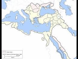 Ottoman Empire Borders Historical Administrative Divisions Of The Ottoman Empire