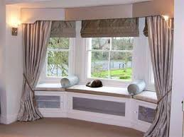 Valances For Bay Windows Inspiration Bay Window Valances With Shades And Curtains Pretty Bay