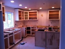 recessed lights for kitchen decorating charming kitchen storage ideas with elegant medallion