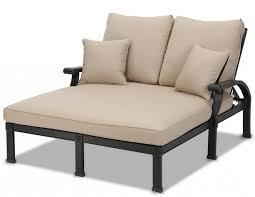 double chaise lounge cushion chaise design