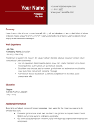 effective resume templates free resume templates