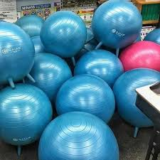 Bounce Ball Chair Kids Stay N Play Ball 45cm Gaiam