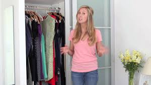 How To Purge Your Closet by Spring Cleaning How To Clear The Clutter In Your Closet Youtube