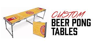 custom beer pong tables pong university