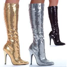womens size 11 sequin boots tin boots by ellie shoes ebay