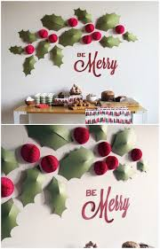 christmas home decor pinterest endearing wall decorating ideas for christmas best ideas about