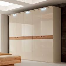 Schlafzimmer Schrank Holz Modern Schlafzimmerschrank Clocs In Creme Hochglanz Pharao24 De