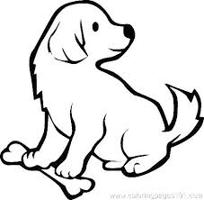 coloring page of a big dog coloring doggy coloring pages big dog page pets free doggy
