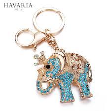 asian giraffe ring holder images Brands havaria women key chain keychains bag pendant car key ring jpg