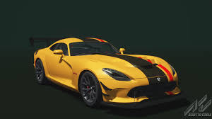 dodge viper 2016 dodge viper acr 2016 dodge car detail assetto corsa database