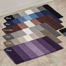 Ombre Bath Rug Bryant Ultra Soft Braided Ombre Bath Rug Set