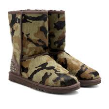 ugg sale at lord and ugg rowland pony hair camouflage boots in green lyst