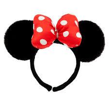 minnie mouse ear headband plush shopdisney