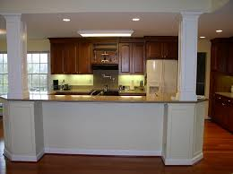 kitchen island columns mauck construction renovations inc portfolio