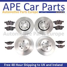 honda civic type r fn2 2007 2012 front and rear brake discs