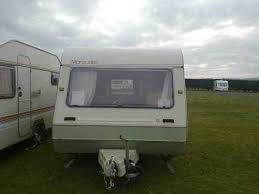 5 Berth Caravan With Awning Abi Marauder 1989 5 Berth Caravan For Sale