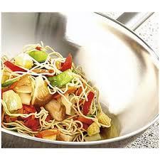demeyere cuisine demeyere cookware flat bottom wok w helper handle specialties