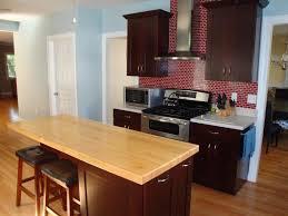 Wood Kitchen Countertops by Diy Butcher Block Countertops Video Hgtv
