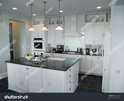 kitchen center islands beautiful modern kitchen center island stock photo 5139382
