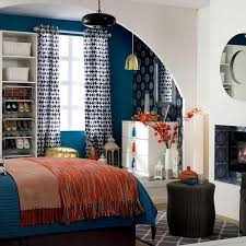 orange and blue bedroom blue and orange rooms full size of living roomliving room design