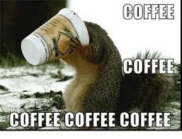 coffee coffee coffee coffee coffee meme on me me