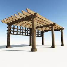 tettoie e pergolati in legno pergolato in legno tettoie e pensiline