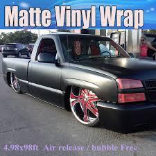 matte flat black vinyl car wrap sticker decal sheet film bubble free high quality black matte vinyl wrap air bubble free satin matt black