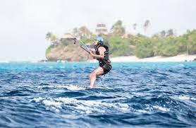 obama and richard branson had a kitesurfing challenge on vacation