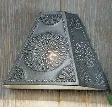 Tin Wall Sconce Wall Sconces Twinkling Tin House Web