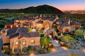 arizona house plans newly built spanish colonial estate in scottsdale az homes of