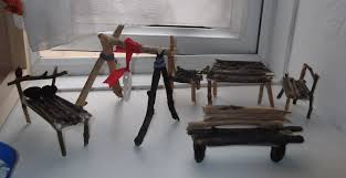 How To Make Doll House Furniture Twig Doll U0027s House Furniture Nancys Hive