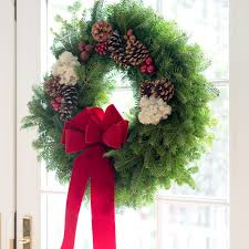original maine balsam fir christmas wreath fresh wreath