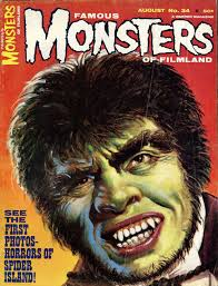 the masks of famous monsters issues 34 35 blood curdling