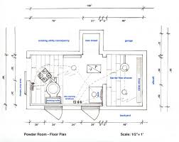 powder room floor plans powder room amanda hart small floor plan traintoball