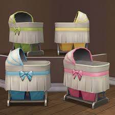 Bassinet Converts To Crib Hugelunatic Converted The Ts4 Crib At S2a Http Sims2artists