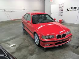 Bmw M3 Red - 1997 bmw e36 m3 sedan for sale in hellrot red and with dinan parts