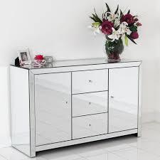 Mirror Credenza Sideboards Glamorous White Mirrored Credenza White Tv Credenza