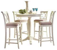 Bar Height Dining Room Sets American Drew Camden Light 5 Piece Bar Height Ped Dining Room Set