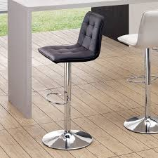 latest adjustable height bar stool with dar home co charry