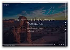 cara membuat website via html top 20 fullscreen html5 css3 website templates 2018 colorlib