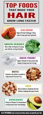 how to make hair strong foods that make hair grow faster