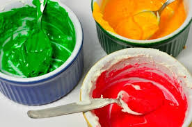 painting cake frosting with food coloring thriftyfun