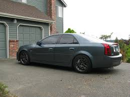 2005 cadillac cts wheels any pics of stealth grey with black wheels grill